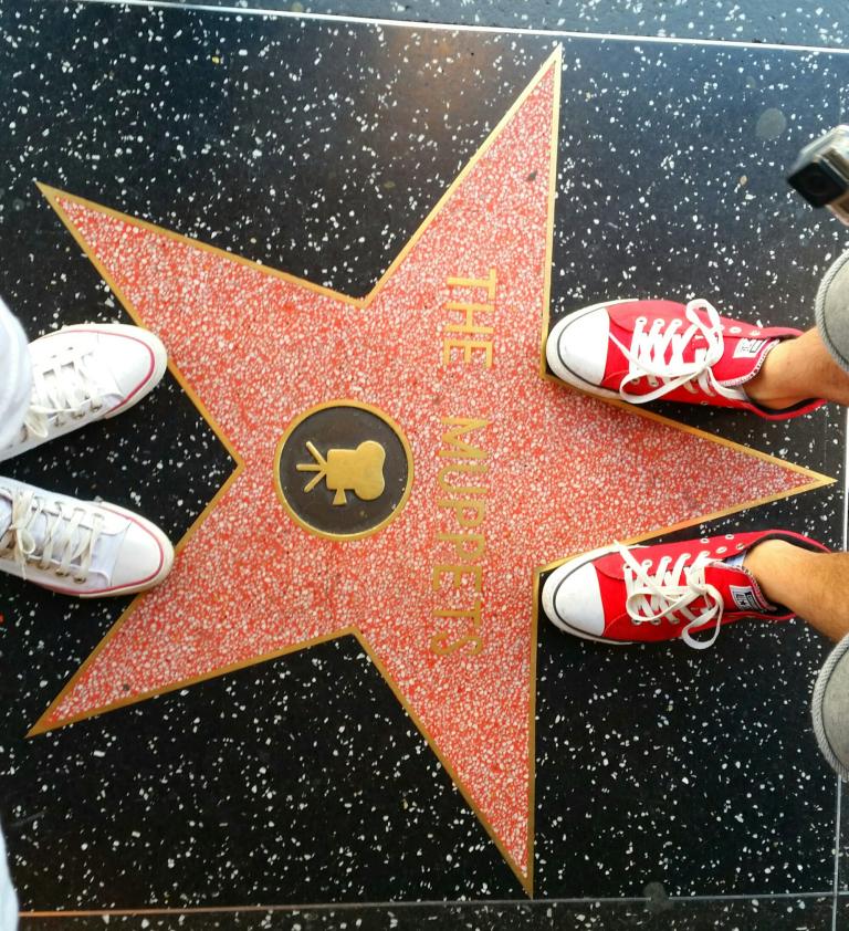 Aleja gwiazd Hollywood The Muppets
