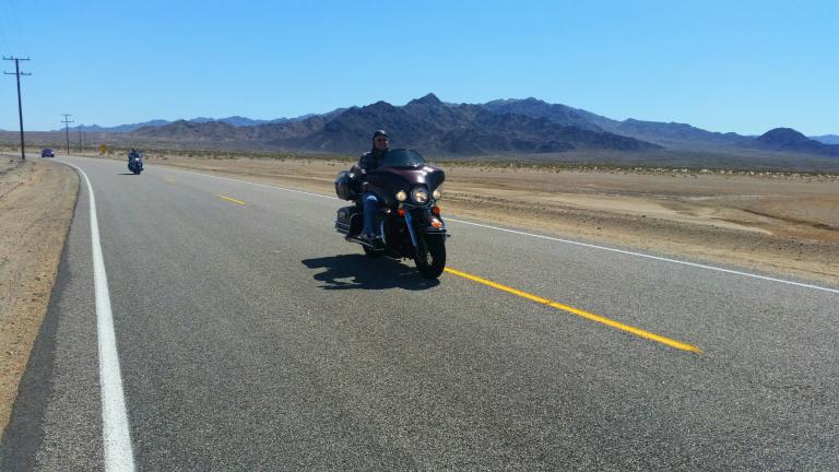 route 66 motocykl Road Trip po Kalifornii