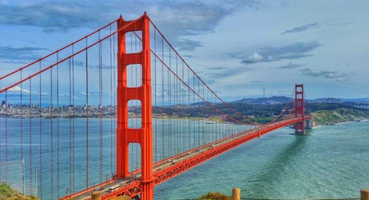San Francisco zakupy golden bridge
