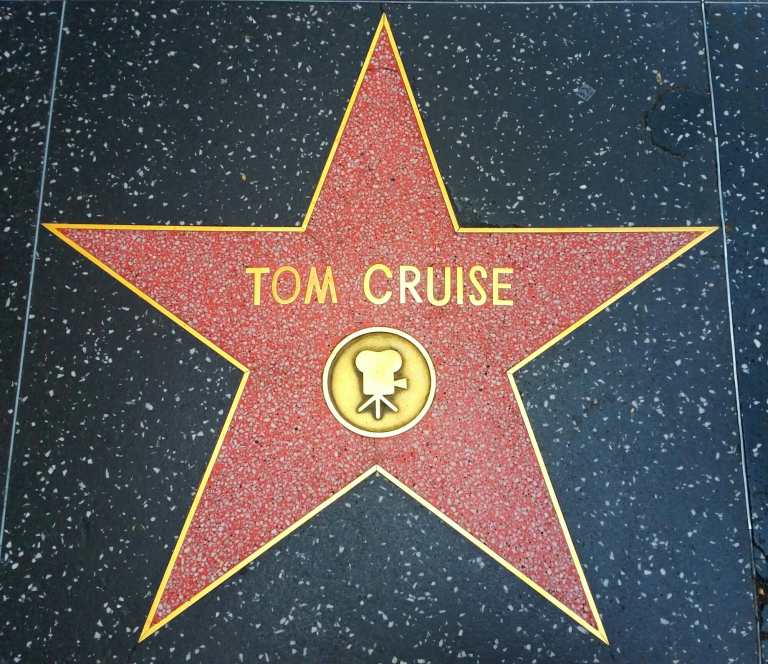 Aleja gwiazd Hollywood Tom Cruise