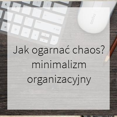 minimalizm organizacyjny