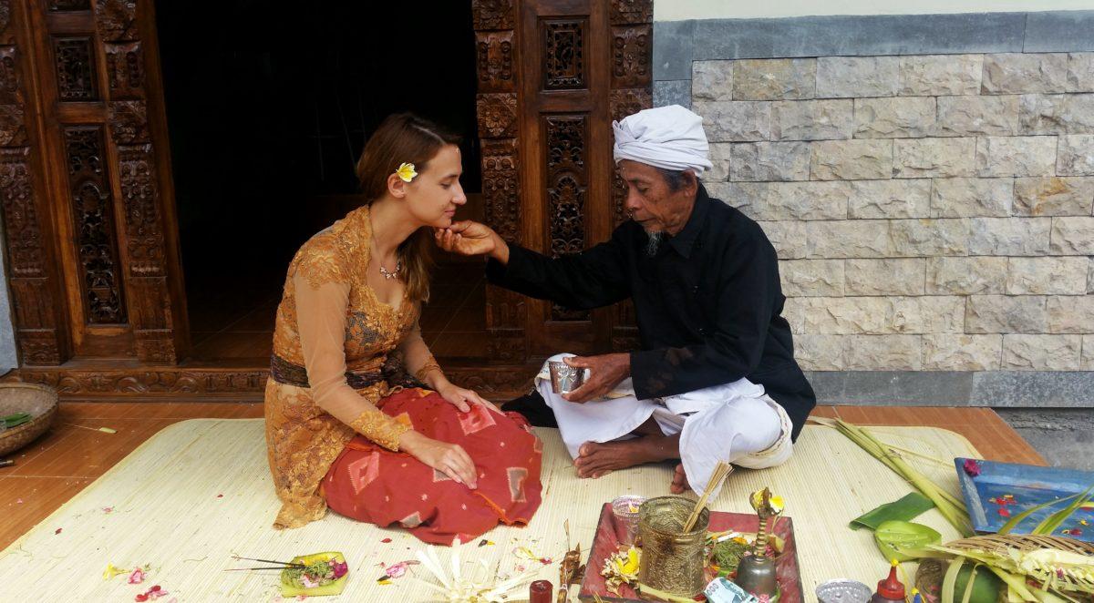Bali, błogosławieństwo