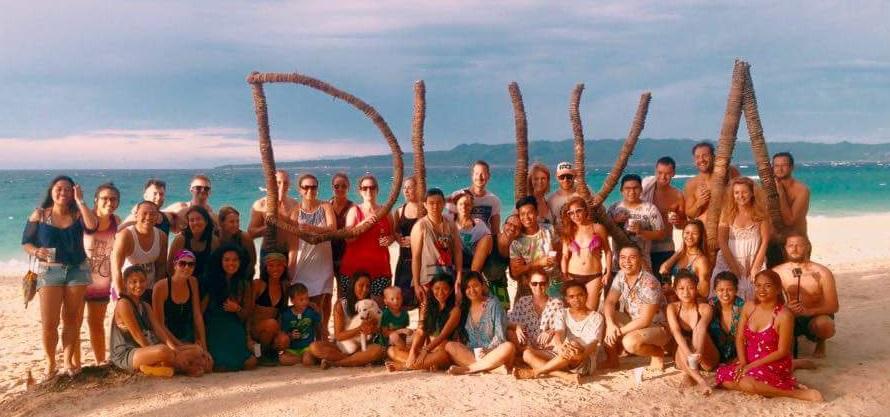 Filipińczycy na Boracay, filipiny