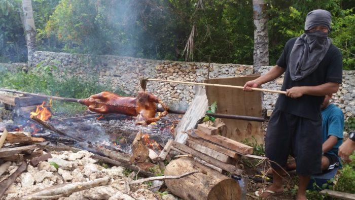 lechon Filipiny jedzenie na Filipinach