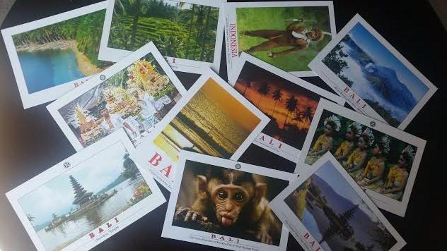 pocztówka z Bali
