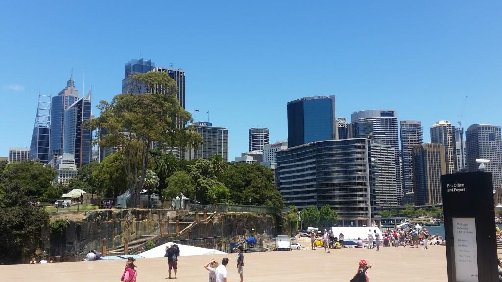 Sydney plaża sto dni w podróży