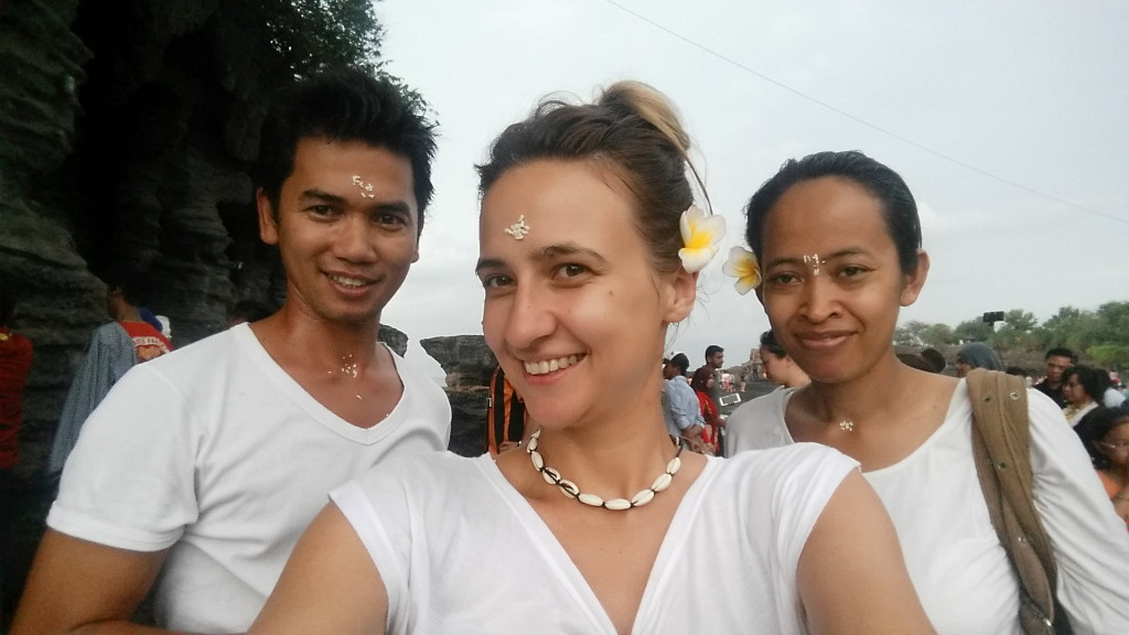 happiness in Bali puspa