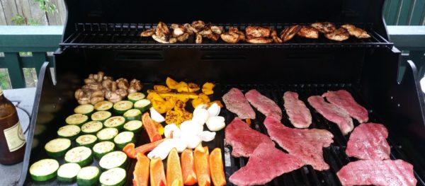 BBQ, jedzenie w Australii