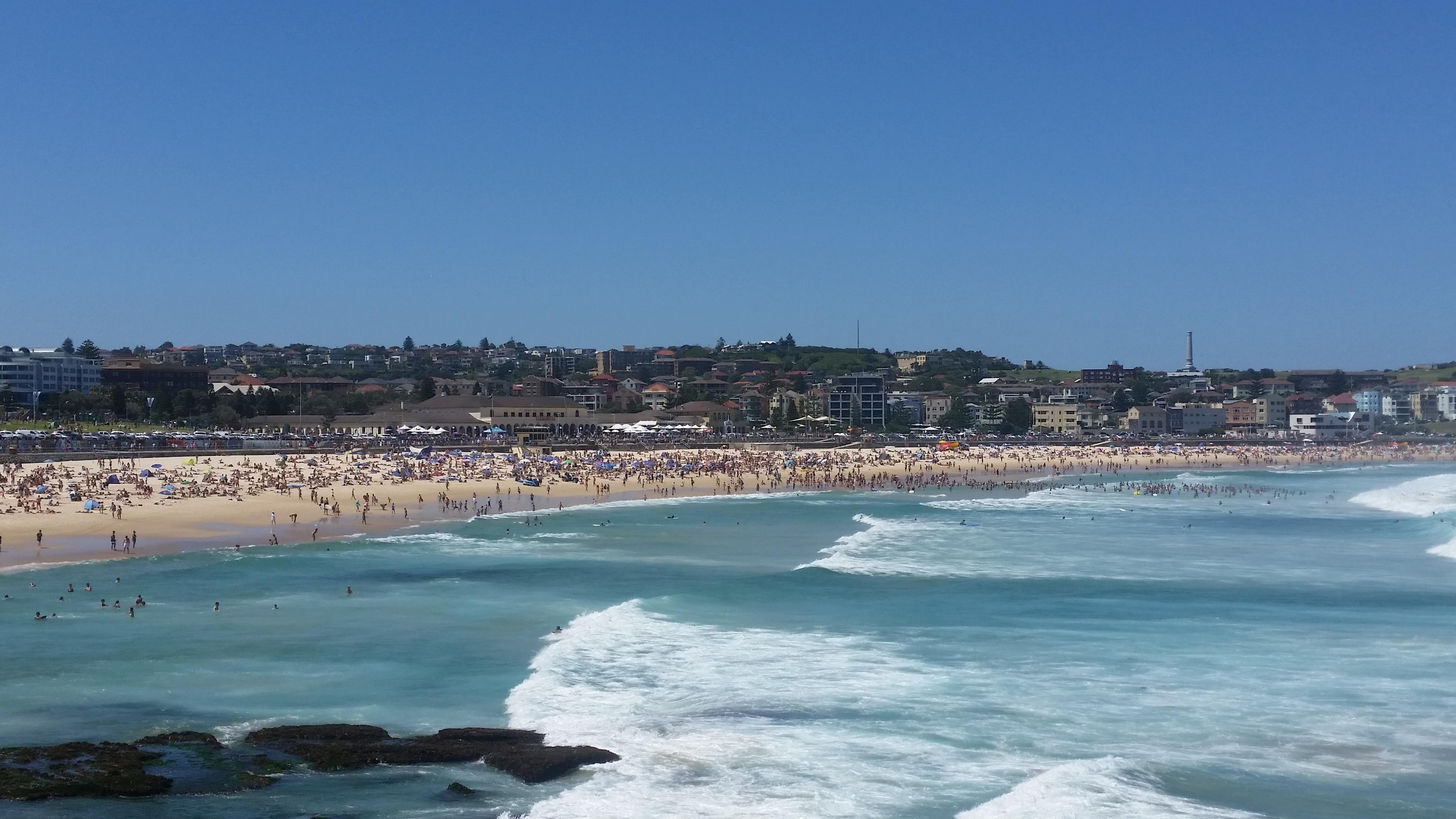 Bondi Beach, Australia Sydney  Sydney przewodnik