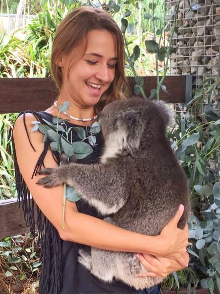 przytulanie koali 2
