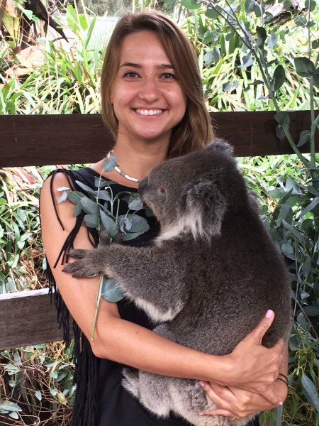 przytulenie koali Martina, Przytulenie koali w Australii