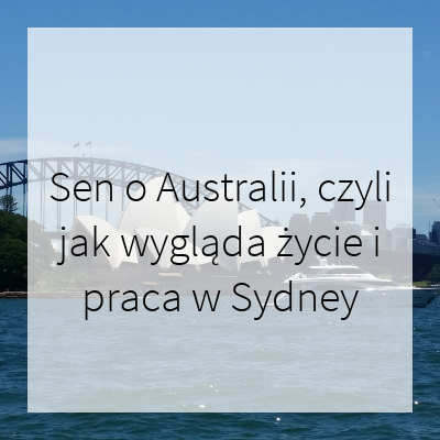 życie w Australii