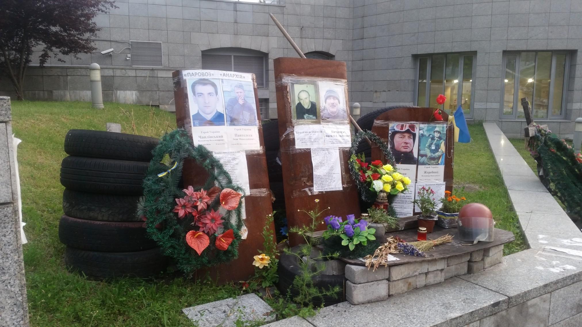 Majdan Kijów Ukraina