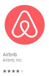 airbnb, aplikacje w podróży