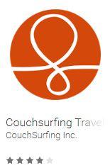 couchsurfing, aplikacje w podróży