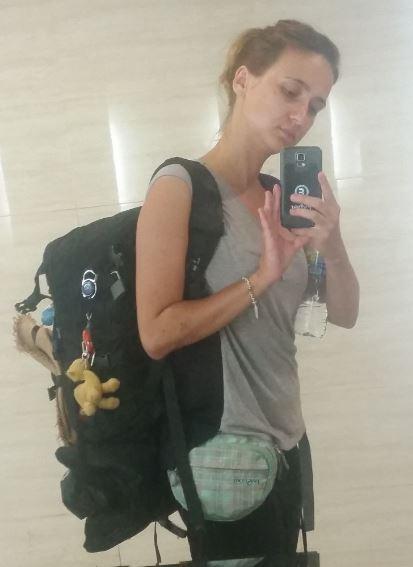 Plecak w podróży dookoła świata w pojedynkę ,plecak podróż dookoła świata w pojedynkę