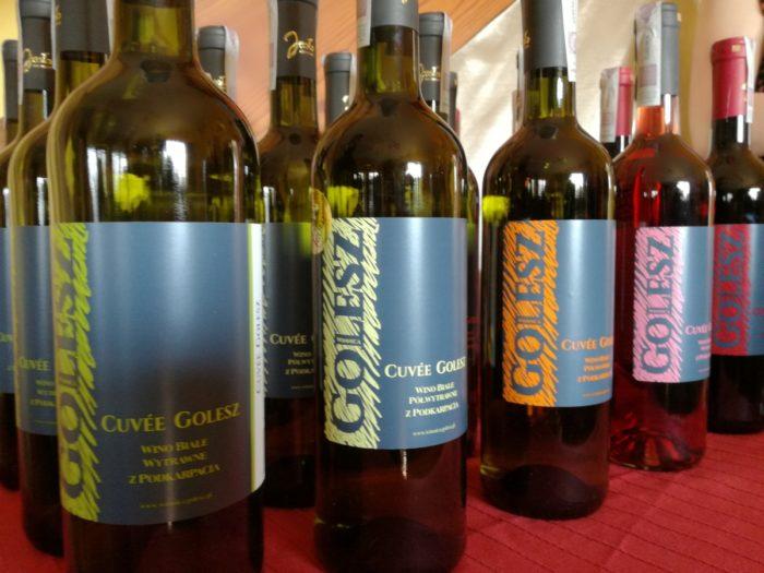 Karpacki szlak wina, winnice na podkarpaciu Winnica Golesz