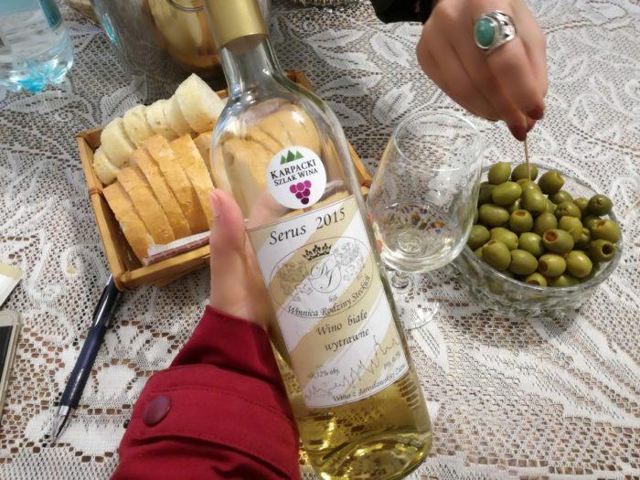 Karpacki szlak wina, winnice na podkarpaciu Winnica Rodziny Steckich