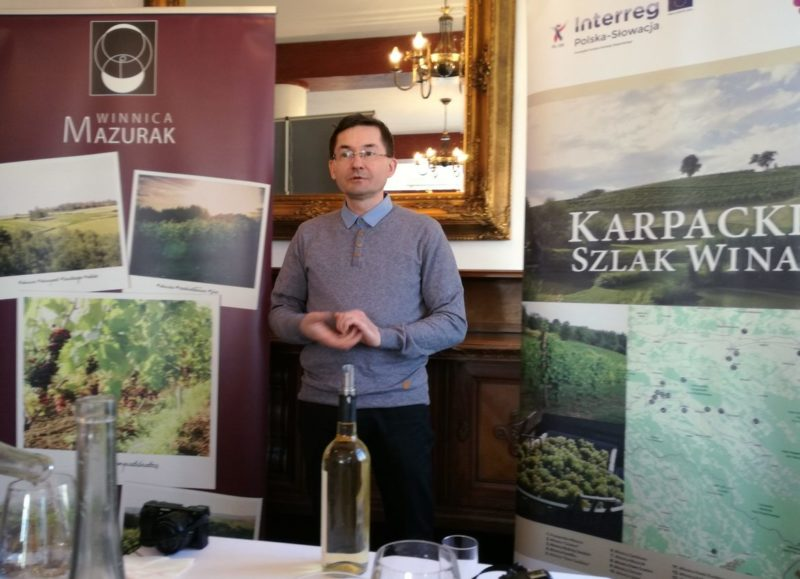 Karpacki szlak wina, winnice na podkarpaciu Winnica Mazurek