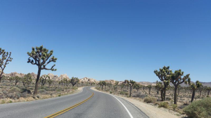 Kalifornia samochodem