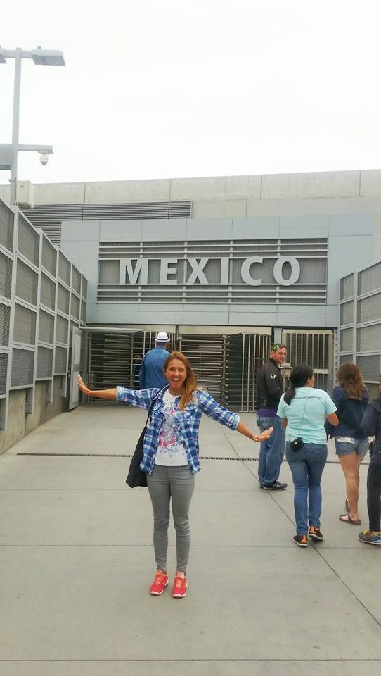 San Diego meksyk granica