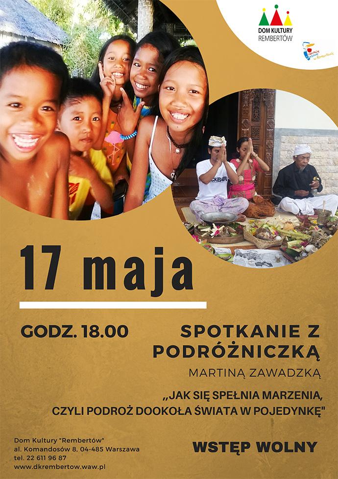 plakat Rembertów Martina Zawadzka