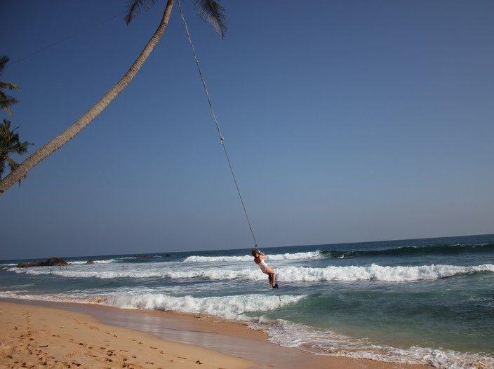 Dalawella beach, Sri Lanka trasa zwiedzania