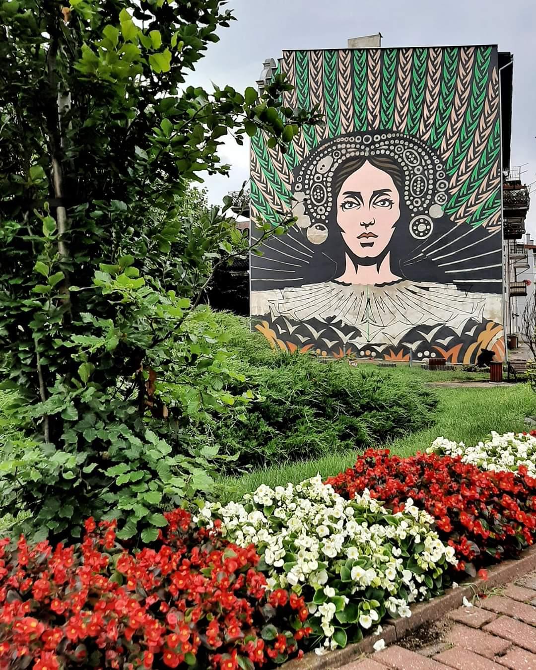 mural anna wazówna brodnica