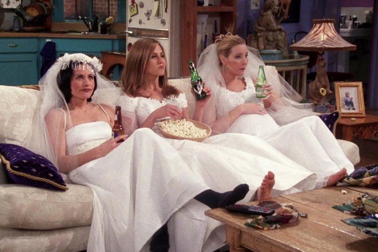 suknie ślubne friends przyjaciele panieński